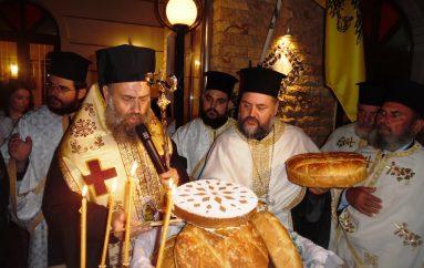 Πλήθος ευσεβών χριστιανών στην πανήγυρη του Αγίου Φανουρίου Μάρκου (ΦΩΤΟ)