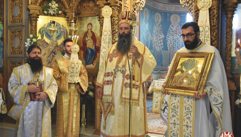 Η εορτή της Μεταμορφώσεως του Σωτήρος στον Πλαταμώνα Πιερίας (ΦΩΤΟ)