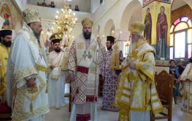 Πολυαρχιερατικό Συλλείτουργο για τον Άγιο Νικάνορα στην Καστοριά (ΦΩΤΟ)