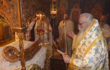 """Καστορίας Σεραφείμ: """"Η Παναγία είναι αυτή που σκεπάζει και στηρίζει την Ελλάδα μας"""" (ΦΩΤΟ – ΒΙΝΤΕΟ)"""