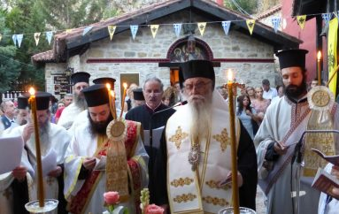 Στο Μοναστήρι της Μαυριώτισσας η Παναγία η Πορφύρα (ΦΩΤΟ – ΒΙΝΤΕΟ)