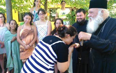 Επίσκεψη του Αρχιεπισκόπου στις κατασκηνώσεις της Αρχιεπισκοπής (ΦΩΤΟ)