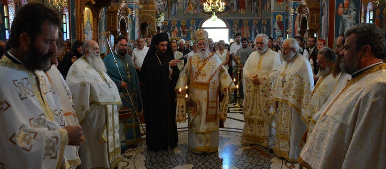 Με Μεγαλοπρέπεια η πανήγυρη της Ιεράς Μονής Μαλεβής (ΦΩΤΟ)