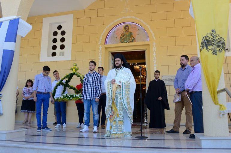 Η εορτή της Κοιμήσεως της Θεοτόκου στο Μερκοβούνι Τρίπολης (ΦΩΤΟ)