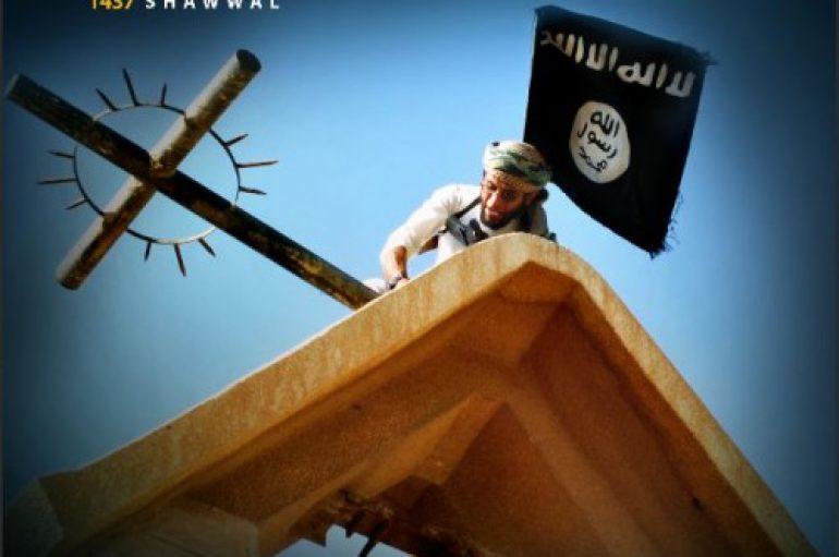 Το Ισλαμικό Κράτος κηρύσσει τον πόλεμο στο Χριστιανισμό