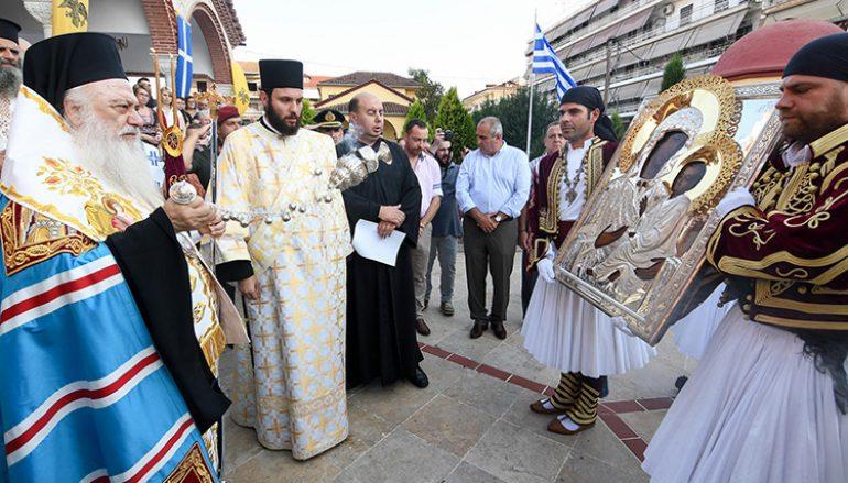 Η εικόνα της Παναγίας Γαλιλαίας στην Αλεξάνδρεια Ημαθίας (ΦΩΤΟ)