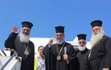 Αναχώρησε από την Κέρκυρα ο Αρχιεπίσκοπος Κύπρου Χρυσόστομος (ΦΩΤΟ)