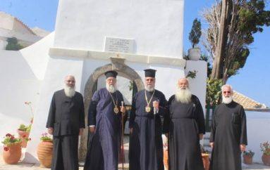 Οι επισκέψεις του Αρχιεπισκόπου Κύπρου Χρυσοστόμου στην Κέρκυρα (ΦΩΤΟ)