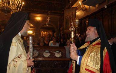 Πολυαρχιερατικό Συλλείτουργο στο Ιερό Προσκύνημα του Αγ. Σπυρίδωνος (ΦΩΤΟ)