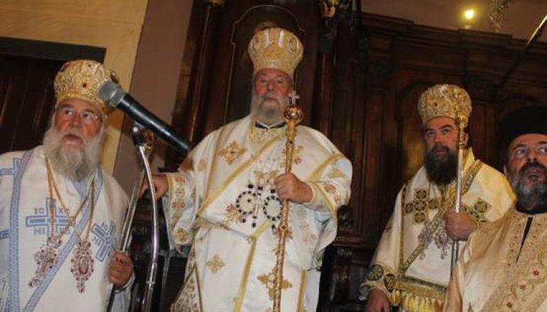 Αρχιεπίσκοπος Κύπρου: «Ο Ελληνισμός επιβίωσε με την πίστη του στον Τριαδικό Θεό» (ΦΩΤΟ)