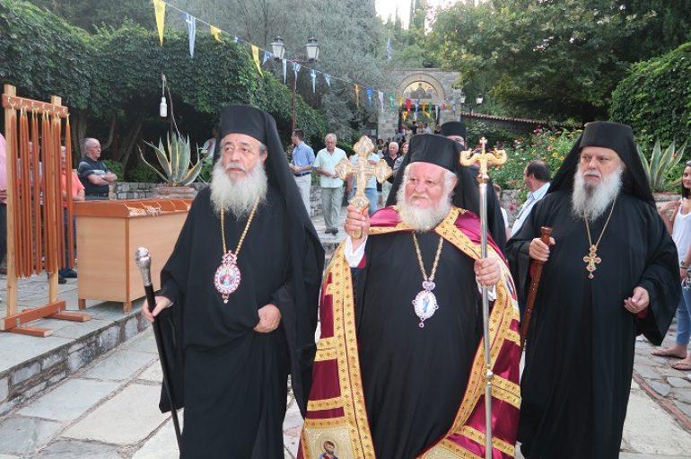 Εορτασμός της Μεταμορφώσεως στην Ι. Μ. Φθιώτιδος (ΦΩΤΟ)