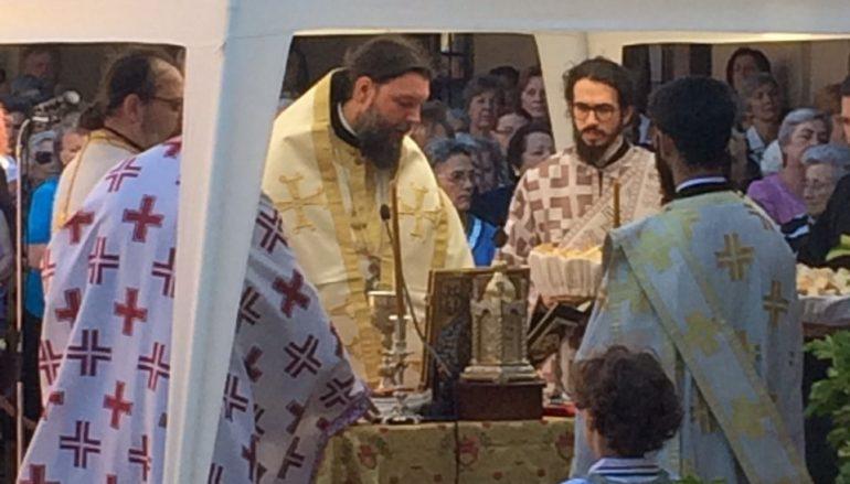 Η εορτή του Αγίου Φανουρίου στην Ι.Μ. Νέας Ιωνίας
