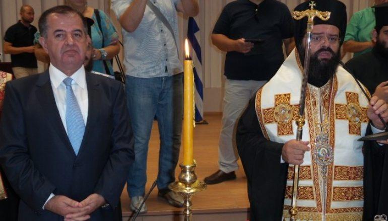 Επίσκεψη του Μητροπολίτου Μαρωνείας στον Περιφερειάρχη
