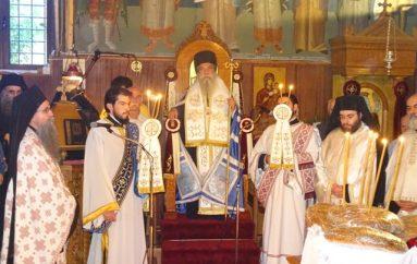Πανηγυρικός εσπερινός στην Ι. Μονή Παναγίας Φανερωμένης Ταϋγέτου (ΦΩΤΟ)