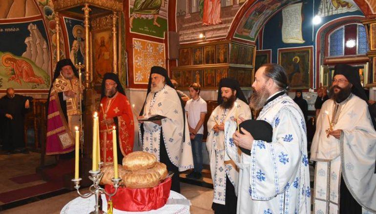 Η μνήμη της Αποτομής της Κεφαλής του Τιμίου Προδρόμου στο Πατριαρχείο Ιεροσολύμων (ΦΩΤΟ-ΒΙΝΤΕΟ)