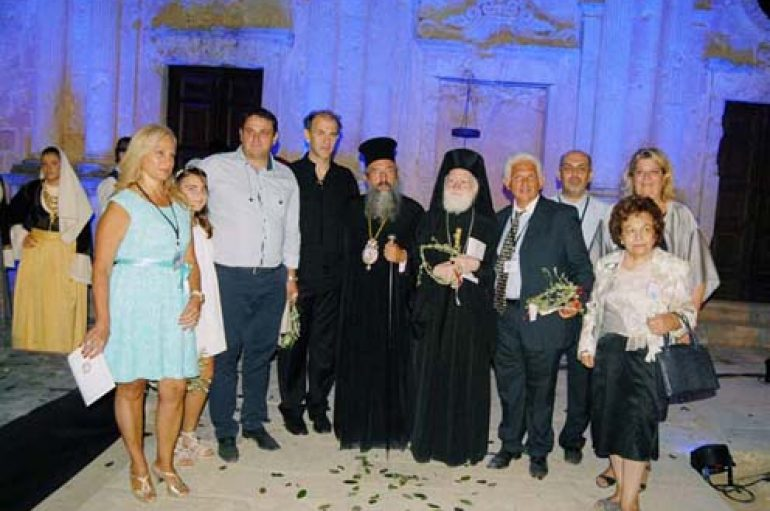 Εκδήλωση των Ρεθυμνίων  της Αττικής  στην Ι. Μονή Αρκαδίου (ΦΩΤΟ)