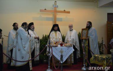 Η εορτή της Υψώσεως του Τιμίου Σταυρού στον ομώνυμο Ναό της Τρίπολης (ΦΩΤΟ)