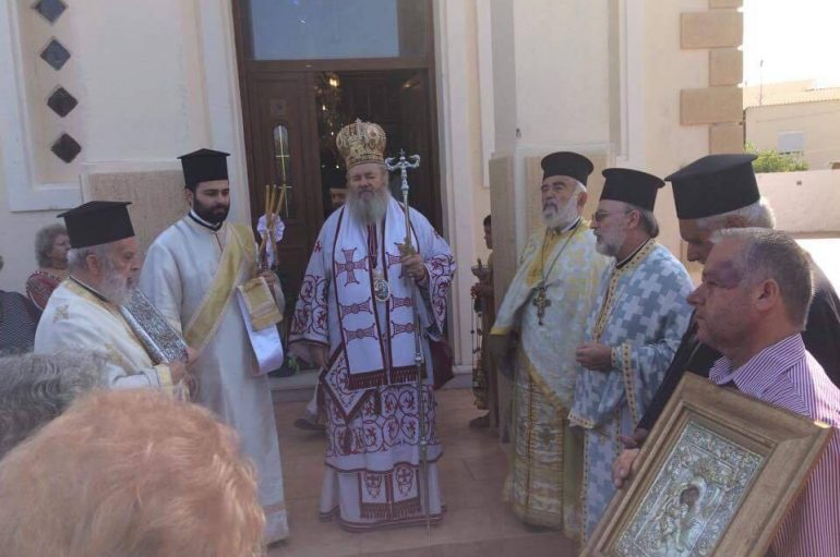 Το Γενέσιον της Θεοτόκου στην Βλαχερωνίτισσα Χανίων (ΦΩΤΟ)