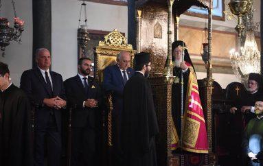 Η εορτή της Υψώσεως του Τιμίου Σταυρού στο Φανάρι (ΦΩΤΟ)
