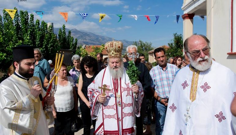 Η εορτή της Υψώσεως του Τιμίου Σταυρού στο Νίππος Αποκορώνου (ΦΩΤΟ)