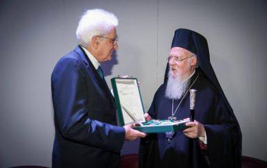 Ο Πρόεδρος της Ιταλίας τίμησε τον Οικουμενικό Πατριάρχη (ΦΩΤΟ)