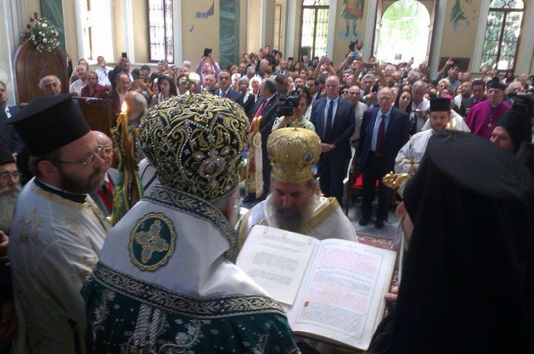 Χειροτονία Μητροπολίτου Ερυθρών από τον Οικουμενικό Πατριάρχη στη Σμύρνη (ΦΩΤΟ-ΒΙΝΤΕΟ)