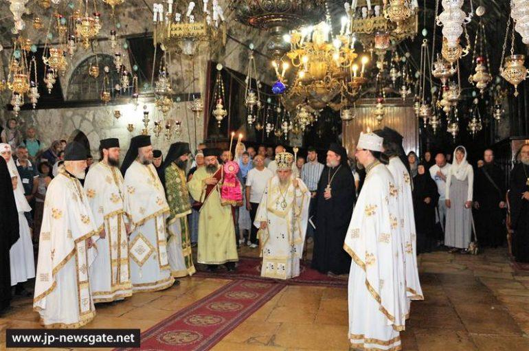 Η εορτή του Γενεθλίου της Θεοτόκου στο Πατριαρχείο Ιεροσολύμων (ΦΩΤΟ-ΒΙΝΤΕΟ)