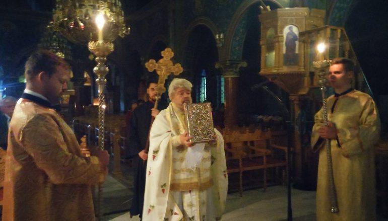 Ο Μητροπολίτης Ισπανίας ιερουργός στην μνήμη του οσίου Χαρίτωνος (ΦΩΤΟ)