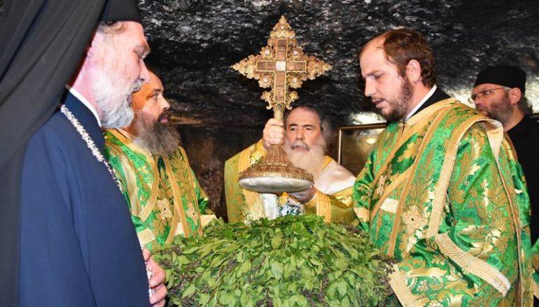 Η Εορτή της Υψώσεως του Τιμίου Σταυρού στο Πατριαρχείο Ιεροσολύμων (ΒΙΝΤΕΟ-ΦΩΤΟ)