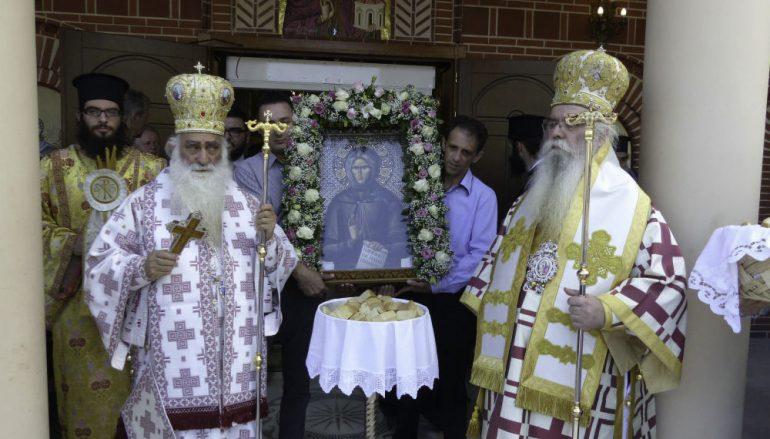 Η Καστοριά τίμησε την Αγία Σοφία της Κλεισούρας (ΦΩΤΟ)