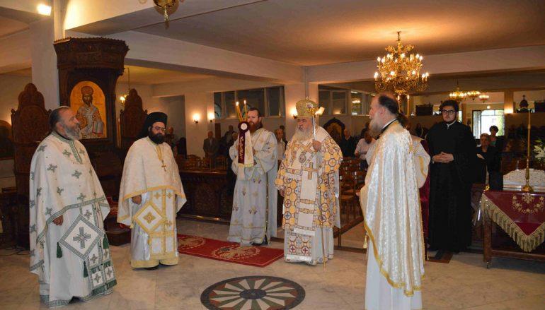 Αρχιερατική Θεία Λειτουργία στον Ι.Ν.Αγίων Αποστόλων Πεύκων (ΦΩΤΟ-ΒΙΝΤΕΟ)