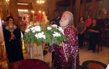 Ύψωση του Τιμίου Σταυρού και διορισμός νέου πατριαρχικού επίτροπου στην Αλεξάνδρεια (ΦΩΤΟ)