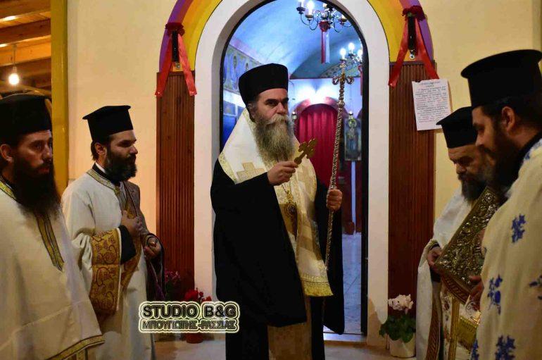 Η εορτή της Αγίας Ευφημίας στη Νέα Τίρυνθα (ΦΩΤΟ)