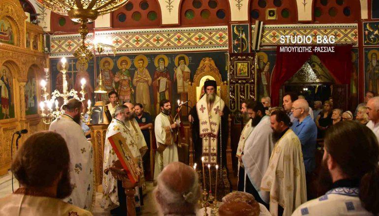 Εσπρινός της ανακομιδής των Ιερών Λειψάνων του Αγ. Νεκταρίου στο Ναύπλιο (ΦΩΤΟ – ΒΙΝΤΕΟ)