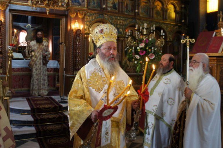 """Κερνίτσης Χρύσανθος: """"Θεϊκό δώρο του 20ου αιώνα υπήρξε ο Άγιος Νεκτάριος"""" (ΦΩΤΟ)"""