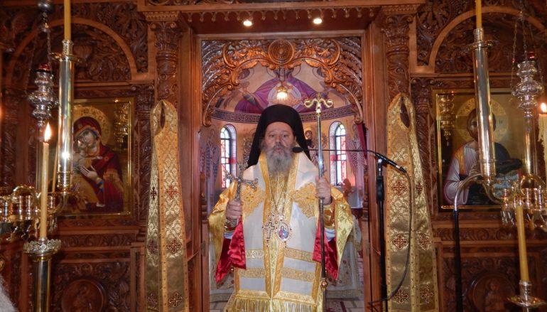 Ο Επίσκοπος Κερνίτσης στην Ι. Μονή Παναγίας Ελεούσης Πιτίτσας Πατρών (ΦΩΤΟ)