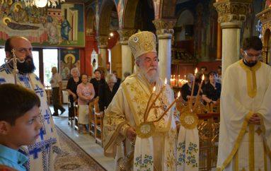 Κυριακή προ της Υψώσεως στον Άγιο Ελευθέριο Ελευθερούπολης (ΦΩΤΟ-ΒΙΝΤΕΟ)