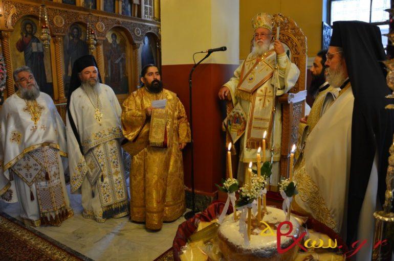 Αρχιερατική Θεία Λειτουργία στην Τρίπολη (ΦΩΤΟ)