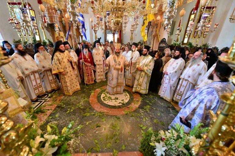 Πανηγύρισε η Ι. Μονή Παναγίας της Θεοσκεπάστου Σοχού (ΦΩΤΟ)
