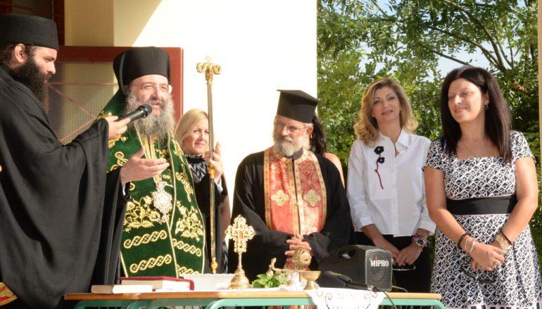 Aγιασμός για την νέα σχολική χρονιά σε σχολεία της Πάτρας (ΦΩΤΟ)