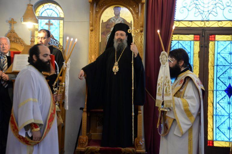 Η Εορτή της Υψώσεως του Τιμίου Σταυρού στην Ιερά Μητρόπολη Πατρών (ΦΩΤΟ)