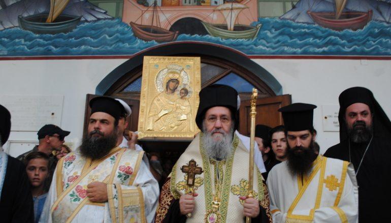 Στο Αντίρριο η Εικόνα της Παναγίας Βηματάρισσας (ΦΩΤΟ – ΒΙΝΤΕΟ)