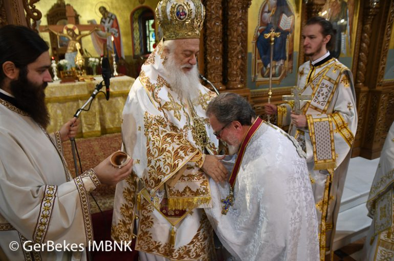 Η εορτή της Αγίας Ιερουσαλήμ στην Ι. Μ. Βεροίας (ΦΩΤΟ)