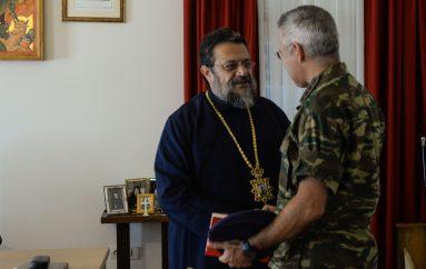 Στον Μητροπολίτη Μεσσηνίας ο νέος Διοικητής του 9ου Συντάγματος Πεζικού (ΦΩΤΟ)