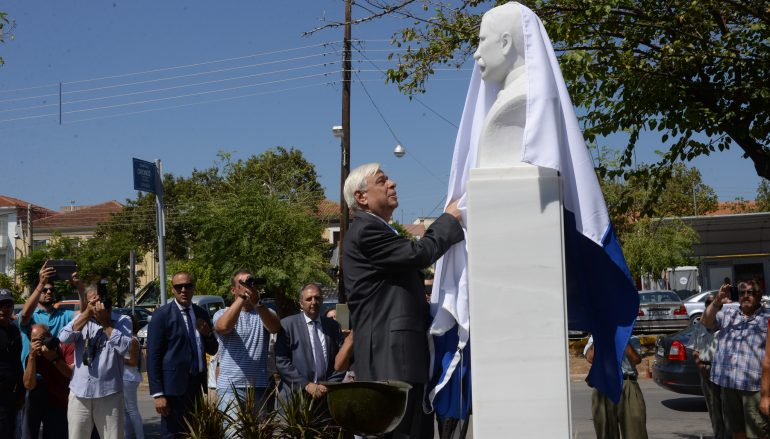 Στην Καλαμάτα ο Πρόεδρος της Δημοκρατίας για τον Αλ. Κουμουνδούρο (ΦΩΤΟ)
