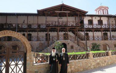 Ο Μητροπολίτης Σύρου στην Ι. Μονή Μεγάλης Παναγιάς Σάμου (ΦΩΤΟ)