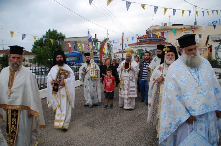 Εγκαίνια Ιερού Ναού Αγίων Κωνσταντίνου και Ελένης Σοφάδων Καρδίτσης (ΦΩΤΟ)