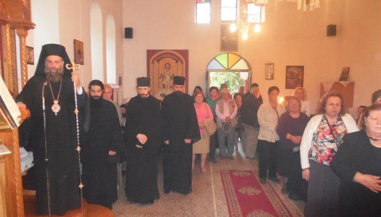 Ο Μητροπολίτης Θεσσαλιώτιδος στα Λουτρά Σμοκόβου (ΦΩΤΟ)