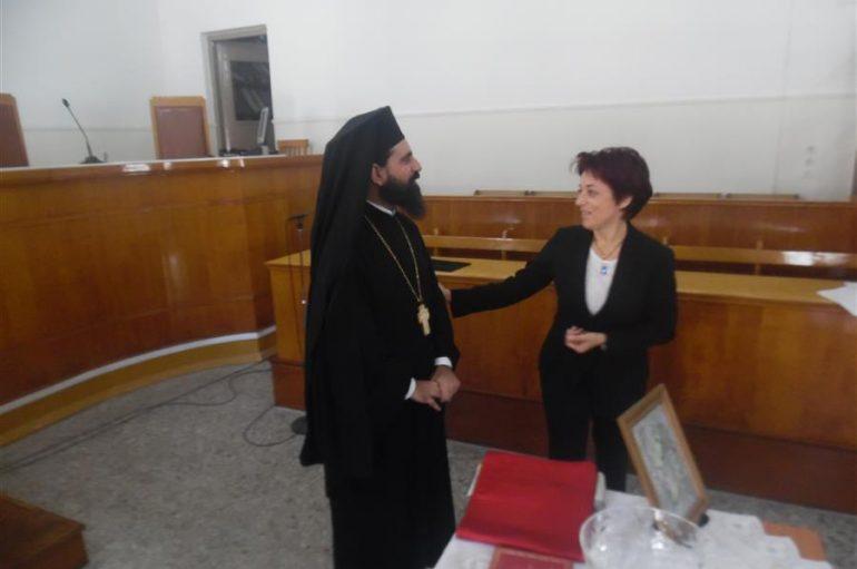 Αγιασμός στο Δικαστικό Μέγαρο Καρδίτσας (ΦΩΤΟ)