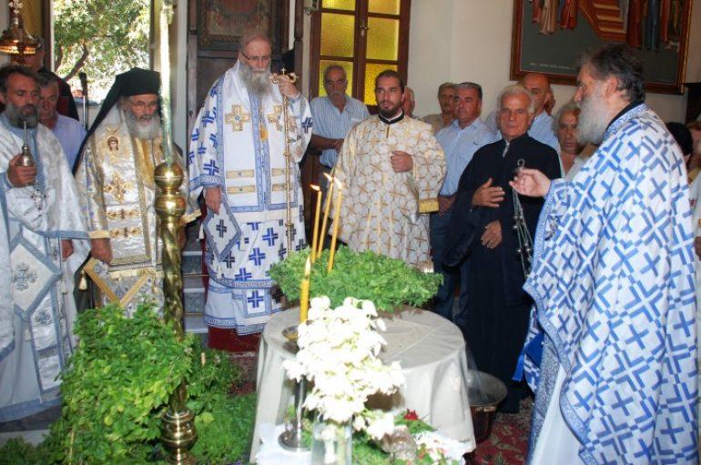Η εορτή της Υψώσεως του Τιμίου Σταυρού στην Ι. Μ. Λέρου (ΦΩΤΟ)